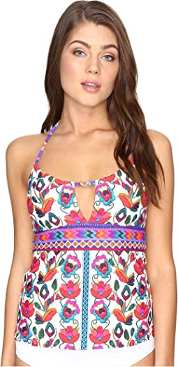Nanette Lepore - Antigua Honey Tankini Top