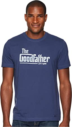 Life is Good The Goodfather Crusher Tee