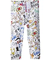 Stella McCartney Kids - Giggle All Over Pow Printed Pants (Infant)