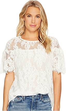 BB Dakota - Alda Ruffle Lace Top