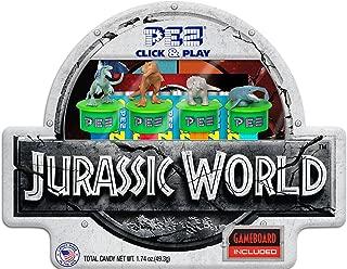 PEZ Candy Jurassic World Click & Play Gift Tin, 14 Oz