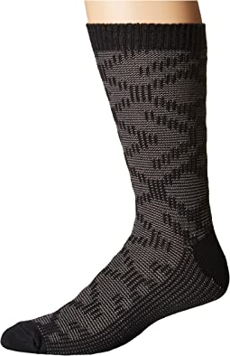 Cotton Textured Crew Socks