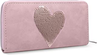 MOCA PREMiUM Womens Girls Ladies Long clutch Zipper Wallet Hand purse For Womens Women's Girls Ladies Wallet Clutch Purse Mobile phone pocket cash Card Holder Wallet for Women