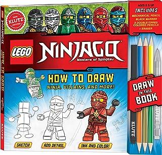 ليجو نينجاغو: كيفية رسم نينجا وأشرار وأكثر!