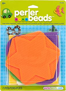 Perler Beads Assorted Pegboard Set Arts and Crafts for Children, 5 pcs