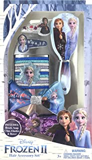 Frozen 2 Girls Hair Accessory Box Set with Brush