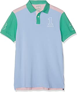Men's Archive 1234 Poloshirt, Blue