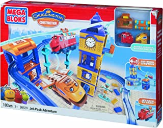 Mega Bloks Chuggington Wilson and Action Chugger's  Jet-Pack Adventure