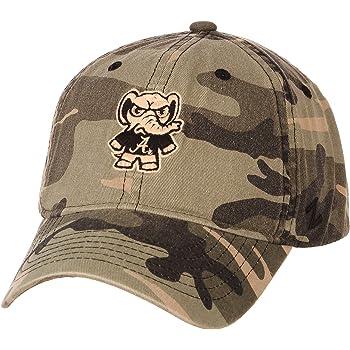 Adjustable Charcoal Grey NCAA Zephyr Kansas Jayhawks Mens Sendai Relaxed Hat