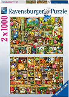 Ravensburger Colin Thompson - 2x 1000 Piece Jigsaw Puzzles for Adults & Kids Age 14 Up [Amazon Exclusive]