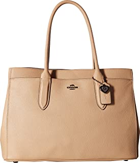 Womens Bailey Carryall in Crossgrain Leather