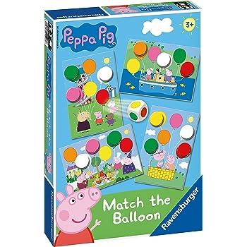 21375 Ravensburger Peppa Pig 6 en 1 Jeux Box Childrens Toys 104 pieces 3 Ans