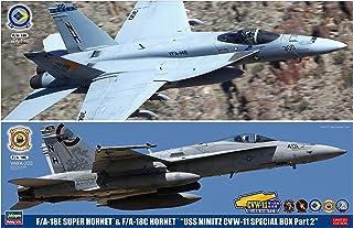 ハセガワ 1/72 アメリカ海軍 F/A-18E スーパーホーネット&F/A-18C ホーネット USS ニミッツ CVW-11 スペシャルパック Part2 2機セット プラモデル SP367