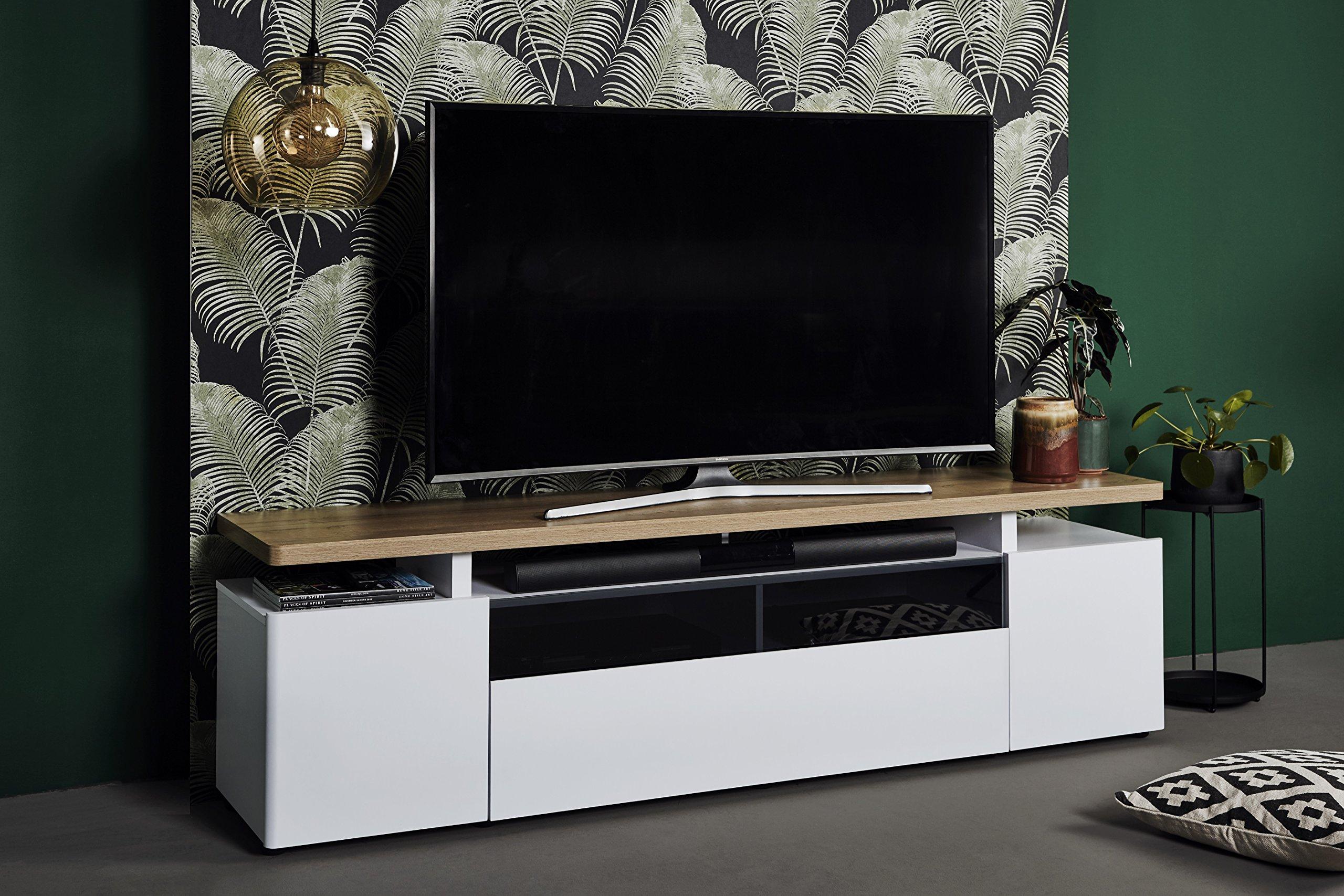 Marca Amazon - Movian Spey - Mueble para TV de hasta 80