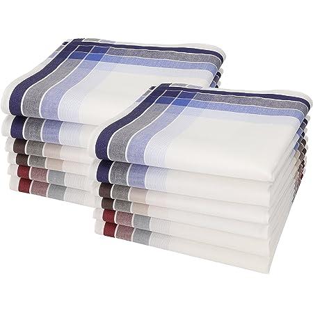 B Herren-Taschentücher 6er Pack im Geschenkkarton