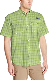 Columbia Men's PFG Super Bahama Short Sleeve Shirt, Breathable, UV Protection