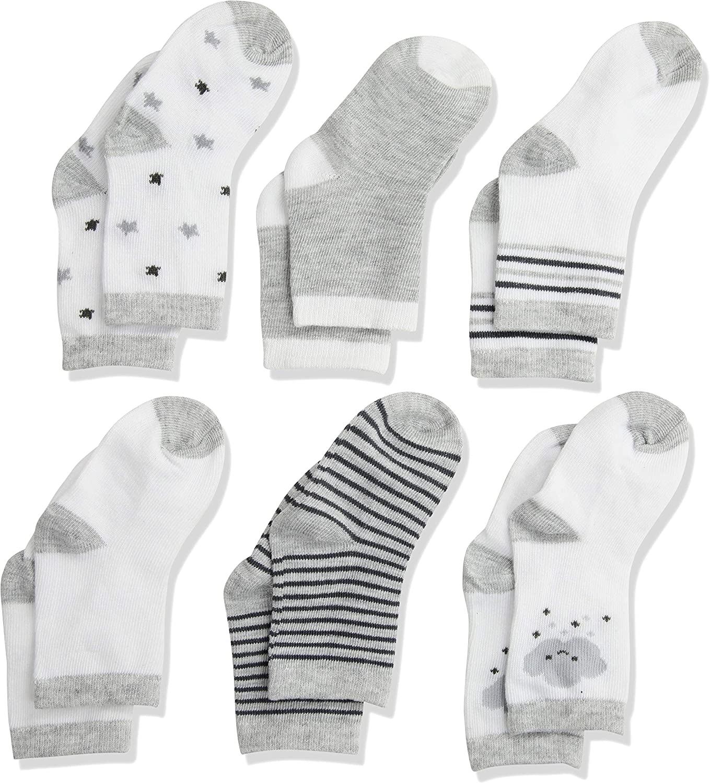 Rene Rofe Baby baby-girls Rene Rofe Baby Newborn and Infant 6 Pack Socks