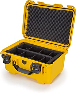 Nanuk 918 Waterproof Hard Case with Padded Dividers - Yellow