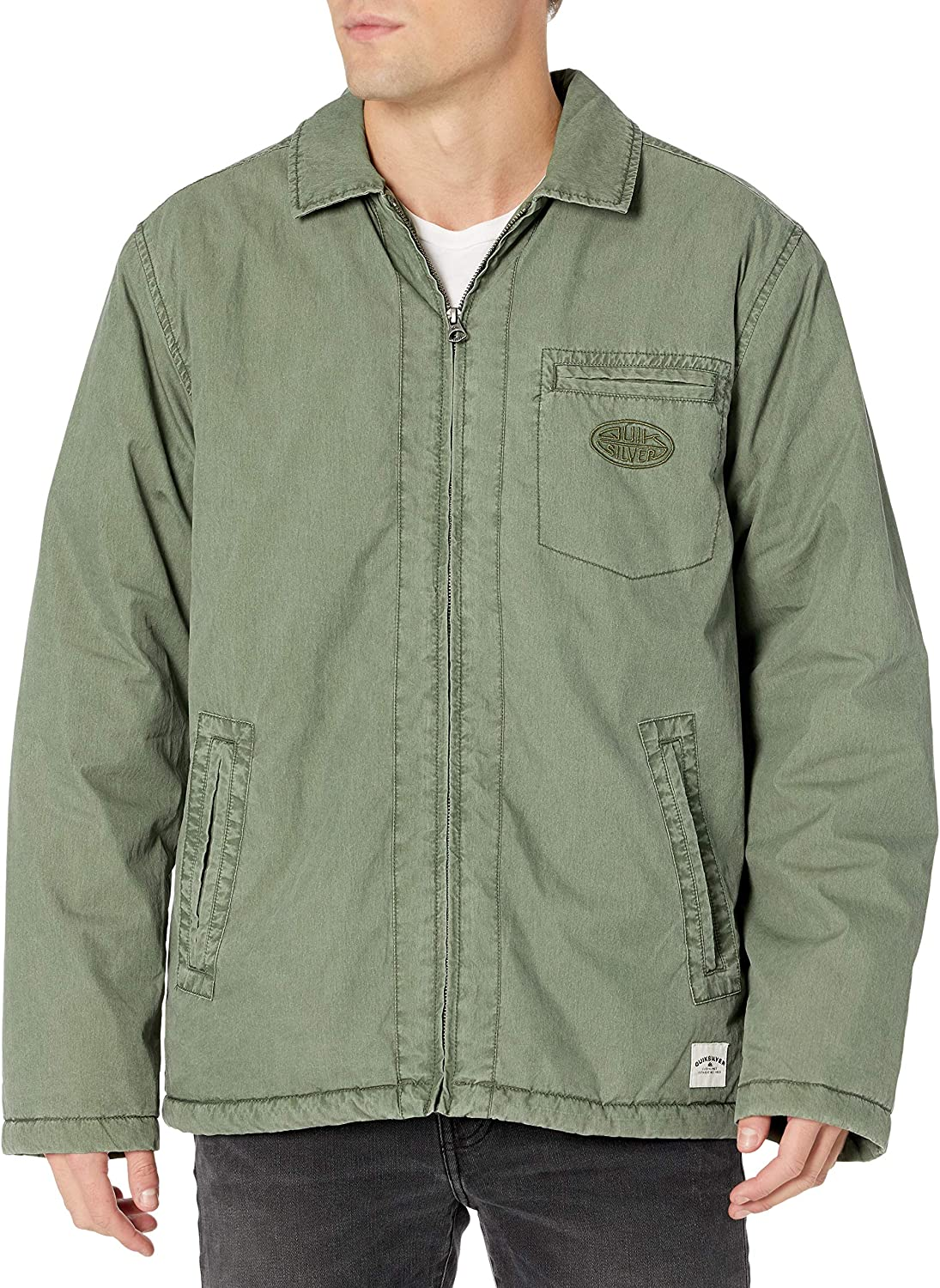 Quiksilver Men's The Unleashed Jacket: Clothing