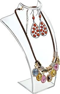 clear acrylic earring display