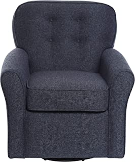 The 1st Chair Lindsay Swivel Glider in Navy 3P