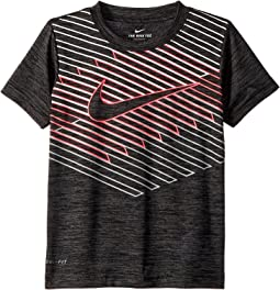 Nike Kids Linear Ombre Chevron Dri-FIT Tee (Little Kids)