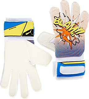 Evopower POW Grip 2 REG Cut POP-Art Comic Goalkeeper Gloves Orange Clown Fish Electric Blue Lemonade
