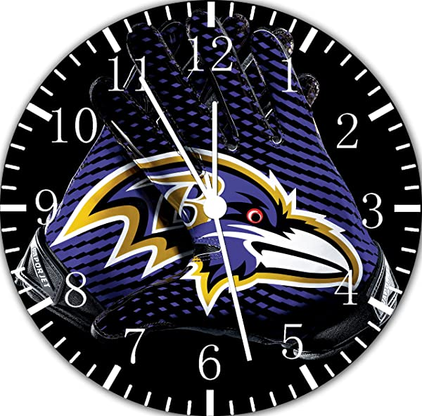 Ravens Frameless Borderless Wall Clock F124 Nice For Gift Or Room Wall Decor