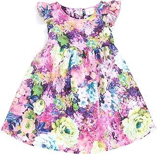 Toddlers and Girls (2T-7/8) Secret Garden Chiffon Dress