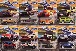 Hot Wheels 2018 Ford Truck Series Complete 8 Vehicle Set