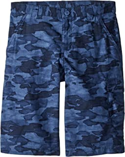 Columbia Kids Silver Ridge Printed Shorts (Little Kids/Big Kids)