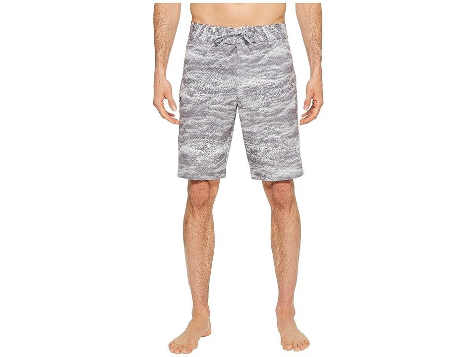 Under Armour UA Reblek Printed Boardshorts (Graphite Anthracite Overcasty Gray) Men