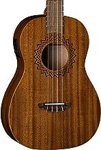 Luna Baritone Acoustic/Electric Ukelele with Preamp, Vintage Mahogany
