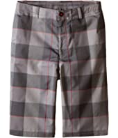 Under Armour Kids - Cross-Hand Yarn-Dye Shorts (Big Kids)