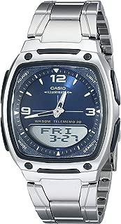 Men's AW81D-2AV Ana-Digi Stainless Steel Watch