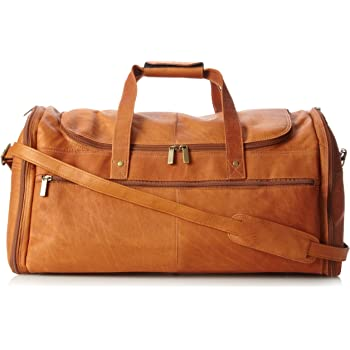 Deluxe A Frame Duffel Tan David King /& Co One Size