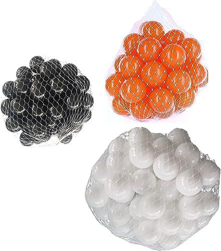 compras online de deportes Pelotas para pelotas baño variadas Mix con Color Color Color blanco, naranja y negro Talla 6000 Stück  ahorra 50% -75% de descuento