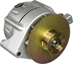 Powermaster Performance 8-47140-347 Natural Alternator (Upgrade 150A Smooth Look 6 Groove Pulley & Baffle & Cone 1 Wire)