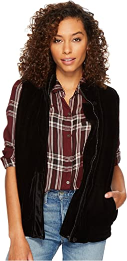 BB Dakota - Withers Velvet Puffer Vest