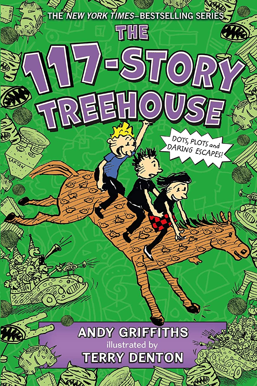 解く壊れた追うThe 117-Story Treehouse: Dots, Plots & Daring Escapes! (The Treehouse Books Book 9) (English Edition)