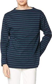 [セントジェームス] Tシャツ 2501無地 ネイビー/ピン MEN M [並行輸入品]