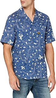 G-STAR RAW Bristum Straight Short Sleeve Camisa para Hombre