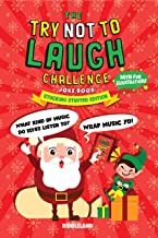 The Try Not To Laugh Challenge Joke Book: Christmas Stocking Stuffer Edition: A Fun and Interactive Joke Book for Boys and Girls:  Ages 6, 7, 8, 9, 10, 11, and 12 Years Old