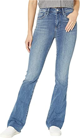 Stiletto High-Rise Bootcut Jeans in Jackson