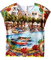 Dolce & Gabbana Kids - River Print T-Shirt (Toddler/Little Kids)