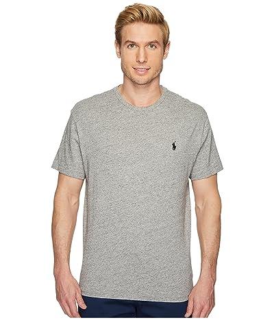 Polo Ralph Lauren Classic Fit Crew T-Shirt (Dark Vintage Heather) Men