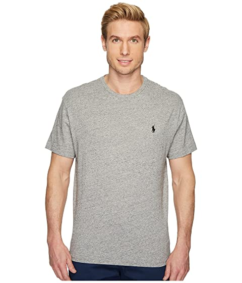 95a231d966a5 Polo Ralph Lauren Classic Fit Crew Neck T-Shirt at Zappos.com