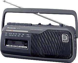 パナソニック ラジカセ 録音 FM/AM/ワイドFM対応 グレー RX-M45-H