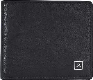 Bifold Wallet for Men - Full Grain Leather RFID Blocking Slim Travel Billfold