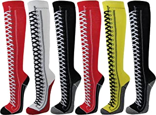 Couver Premium Quantity Cotton Knee High Referee Socks Multi-Assorted Pack